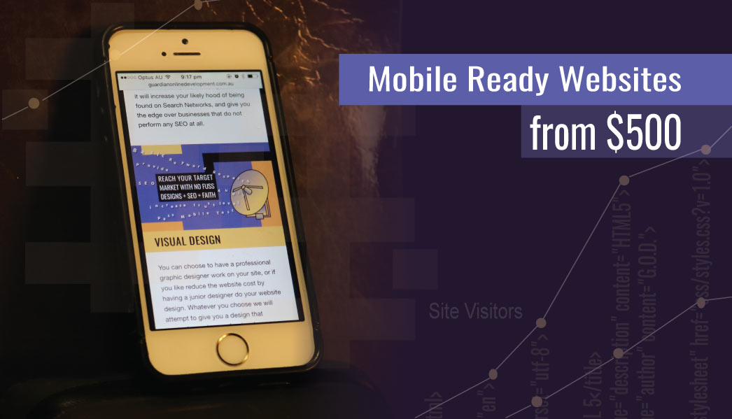 Mobile Web Design with Guardian Online Development